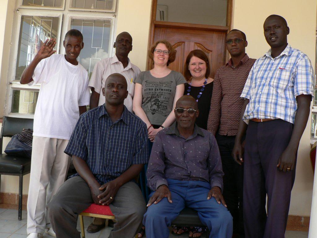 Látogatás az ilchamus fordítói csapat irodájánál 2017 nyarán